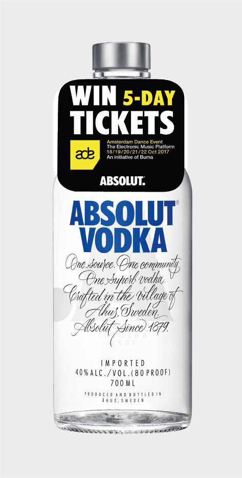Absolut Vodka Ticket Promotion