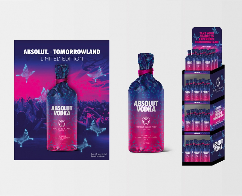 Studio Baat - Absolut vodka Tomorrowland