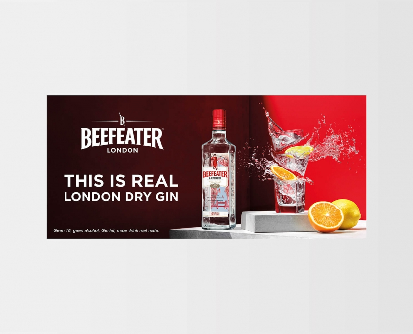 Studio Baat Beefeater London Dry Gin (advertising)