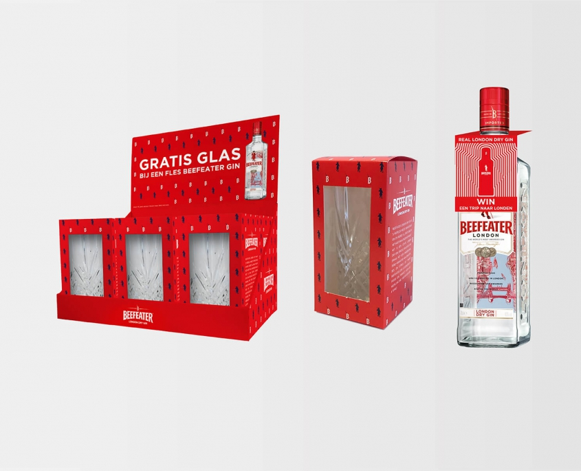 Studio Baat - Beefeater London Dry Gin (diverse materialen)