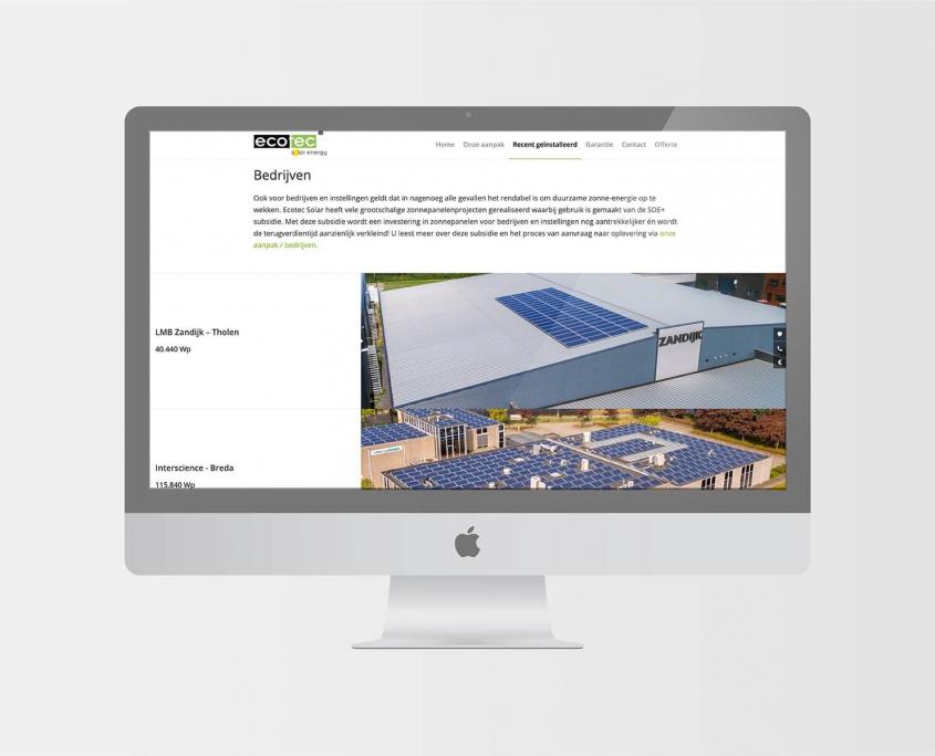 Studio Baat - Ecotec Solar site