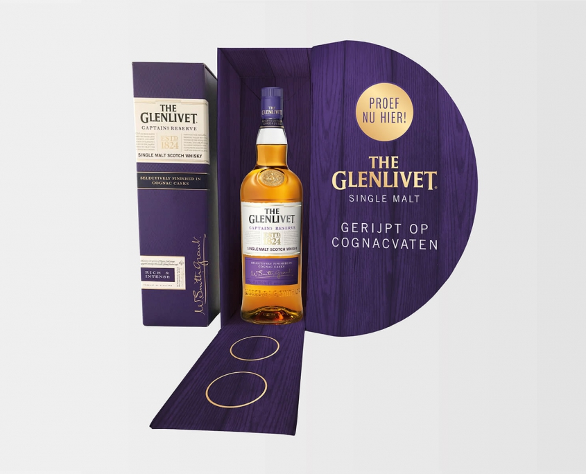 Studio Baat - The Glenlivet Captain's Reserve tasting kit